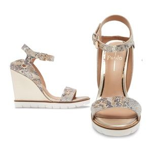 Linea Paolo Ella Wedge Sandals